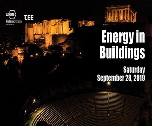 Energy In Buildings 2019 - Ashrae Hellenic Chapter